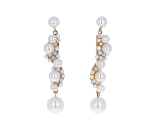 Calder Corail Pearl Earrings