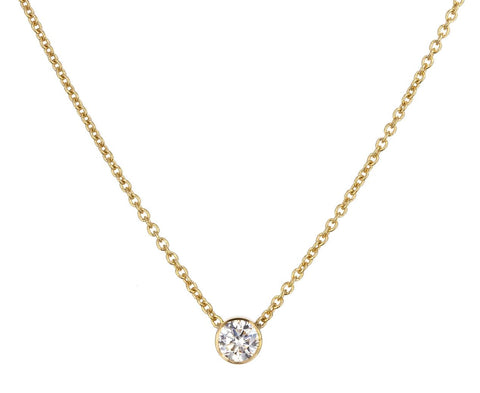 Diamond Chain Necklace zoom 1_sophie_bille_brahe_gold_diamond_pendant_necklace