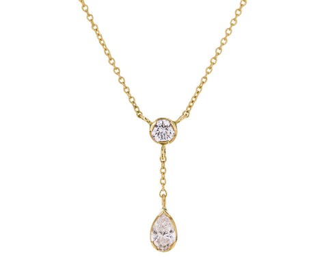 Roma Pear Diamant Necklace - TWISTonline