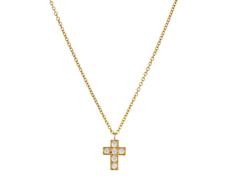 Gold and Diamond Giulietta Necklace - TWISTonline