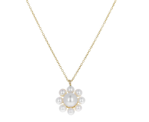 Margherita Simple Pearl Pendant Necklace