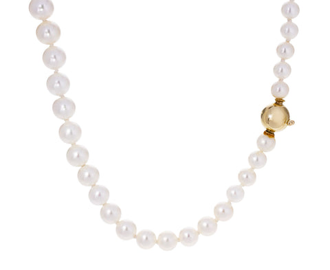 Petite Peggy Pearl Necklace - TWISTonline