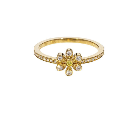 Diamond Marguerite D'Amour Ring zoom 1_sophie_bille_brahe_gold_diamond_marguerite_flowe