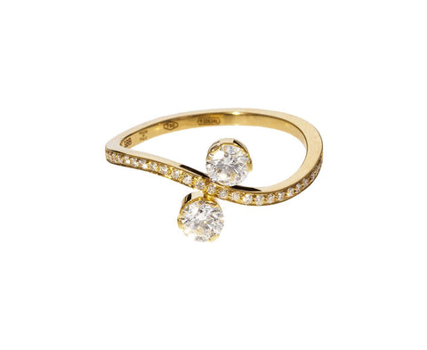 Double Diamond Bianca Ring zoom 1_sophie_bille_brahe_gold_diamond_bianca_ring