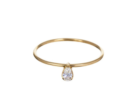 Diamond Simone Poire Ring - TWISTonline
