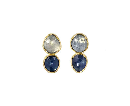 Sapphire Double Orbit Earrings - TWISTonline