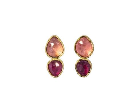 Ruby and Sapphire Double Orbit Earrings zoom 1_brooke_gregson_gold_sapphire_ruby_orbit_earrings