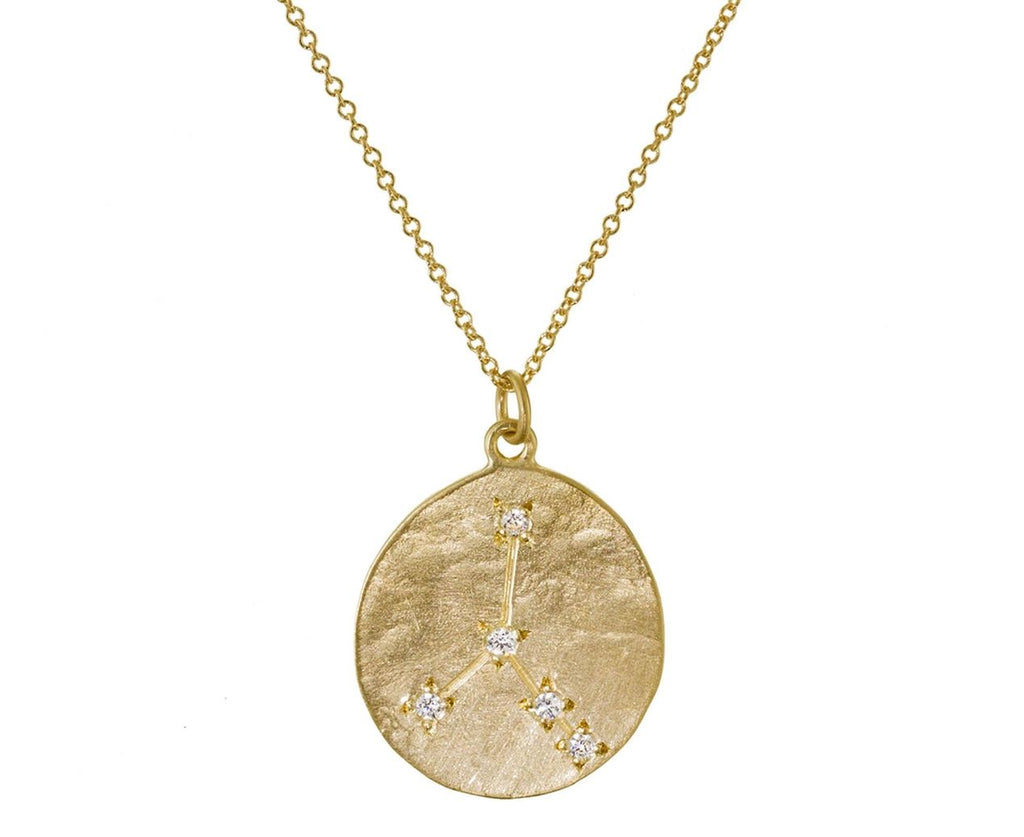 Diamond Cancer Pendant Necklace - TWISTonline