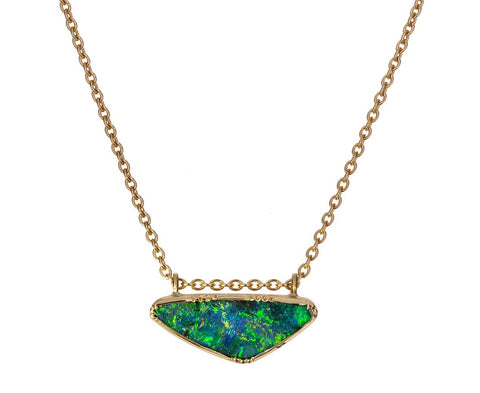 Ellipse Boulder Opal Floating Necklace zoom 1_brooke_gregson_gold_boulder_opal_ellipse_necklac