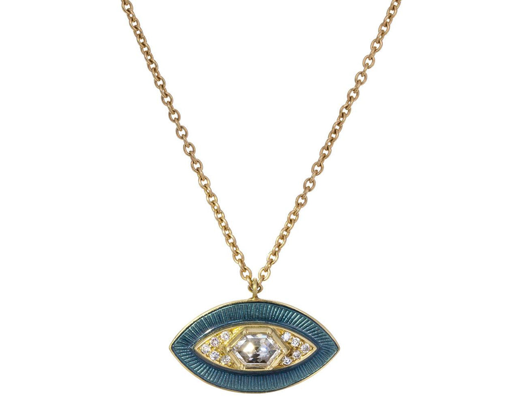Diamond Protection Talisman Pendant Necklace zoom 1_brooke_gregson_gold_talisman_diamond_eye_necklac