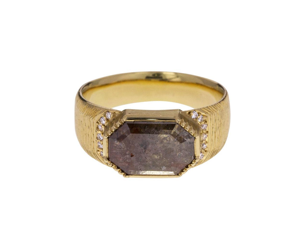 Artemis Engraved Octagon Diamond Ring zoom 1_brooke_gregson_gold_diamond_artemis_octagon_ring