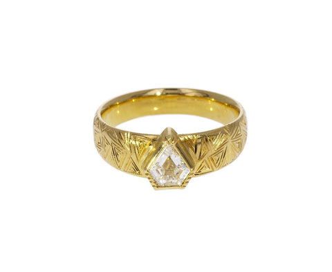 Hera Engraved Diamond Band zoom 1_brooke_gregson_gold_diamond_hera_engraved_ring