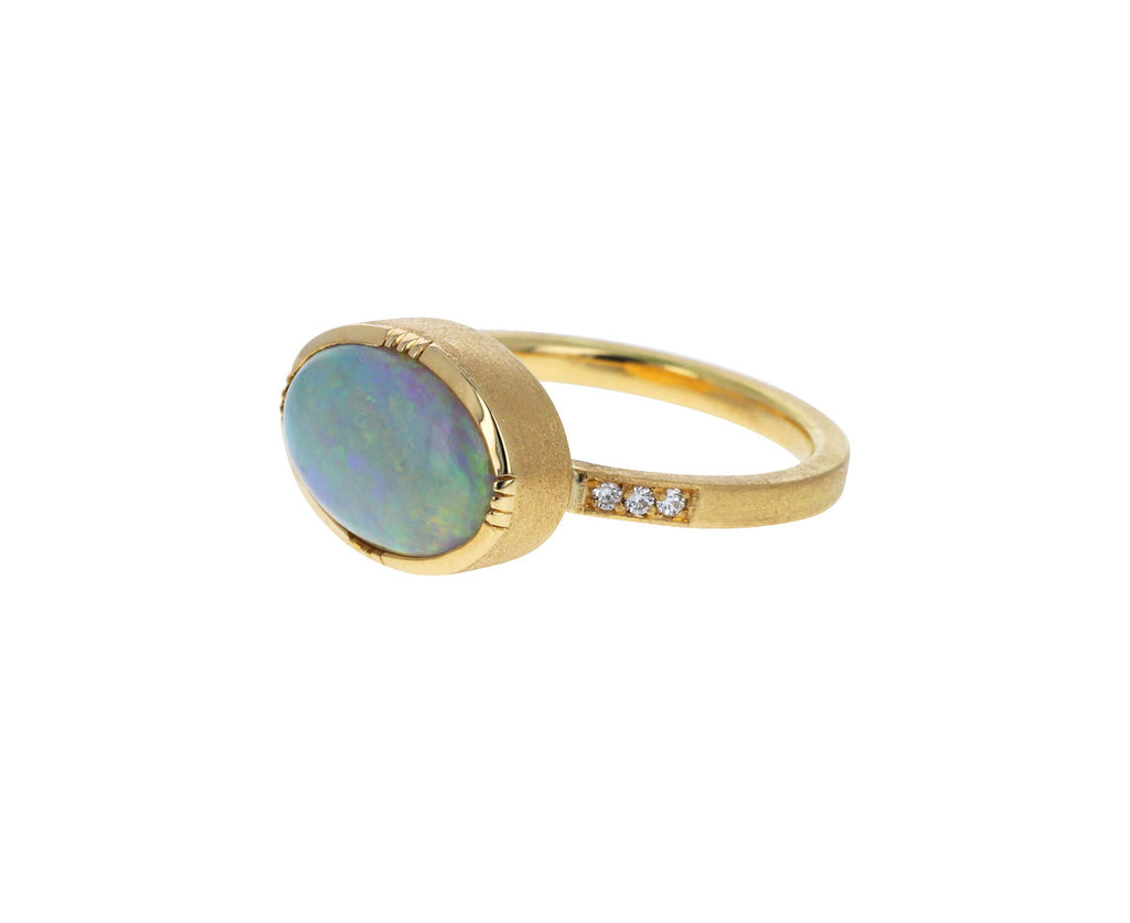 Brooke Gregson Opal Ellipse Ring