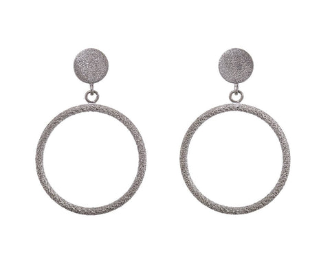 Looking Glass Small Round Earrings zoom 1_carolina_bucci_white_gold_looking_glass_coin_ear