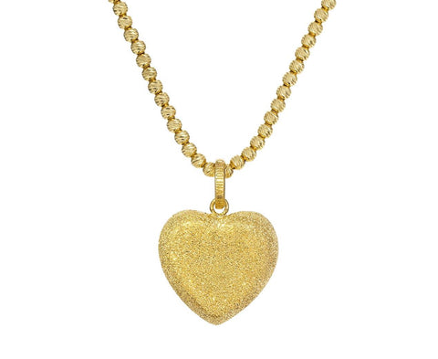 Florentine Yellow Gold Heart Pendant ONLY zoom 1_carolina_bucci_gold_heart_florentine_pendant