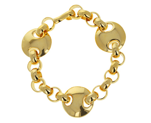 Gold Germain Bracelet