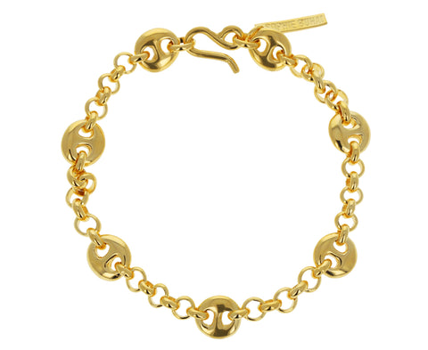 Small Germain Gold Bracelet