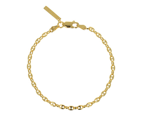 Gold Classic Delicate Chain Bracelet