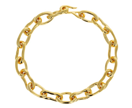 Gold Small Roman Chain Bracelet