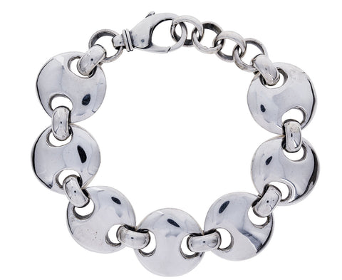 Large Circle Link Bracelet - TWISTonline