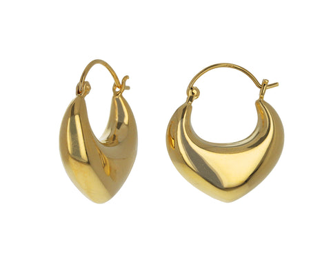 Gold Venetia Hoops