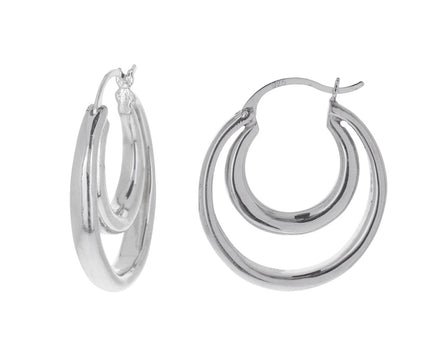 Large Double Hoops