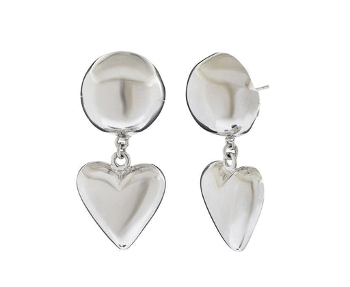Silver Love Earrings - TWISTonline