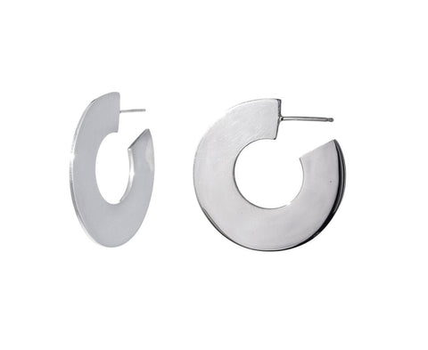Small Flat Hoops - TWISTonline