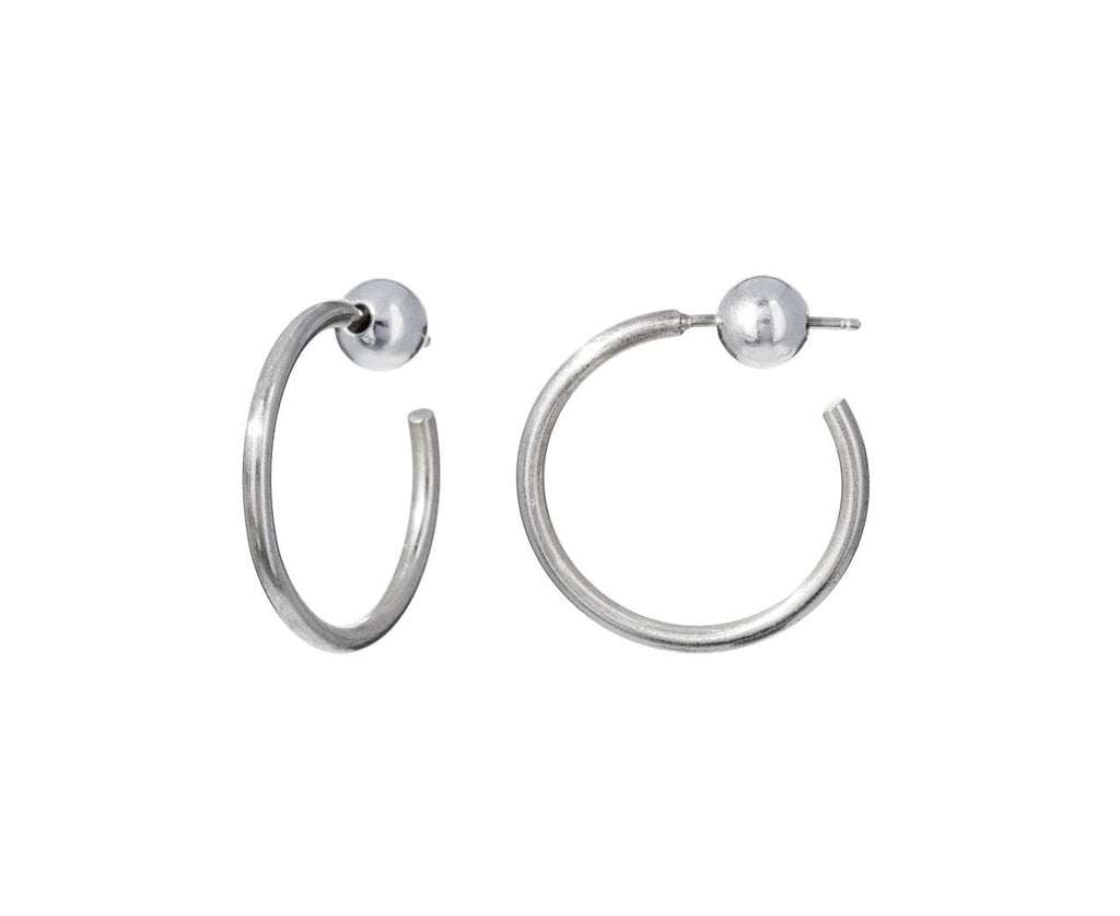 Silver Small Hoops - TWISTonline