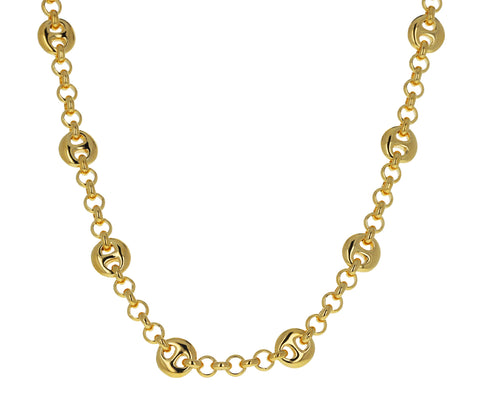 Small Germain Gold Choker