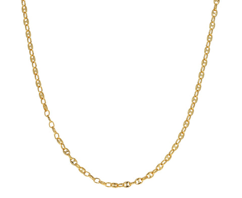 Long Gold Classic Delicate Chain Necklace
