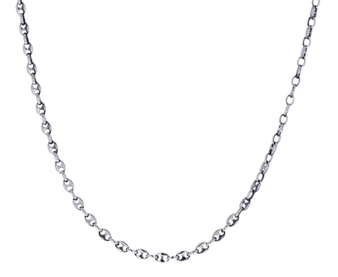Silver Classic Delicate Chain Necklace