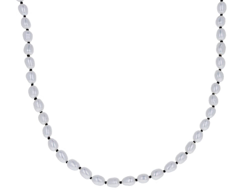 Tiny Freshwater Pearl Collar Necklace
