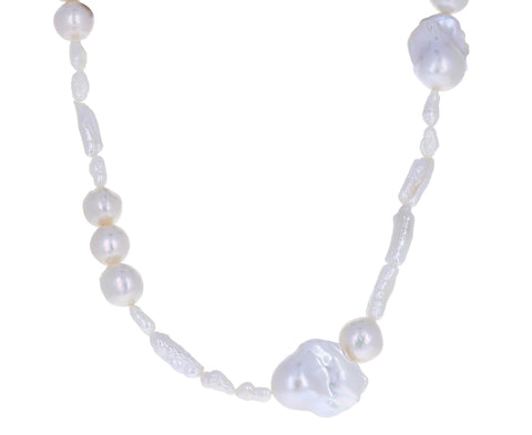 Pearl Assemblage Necklace