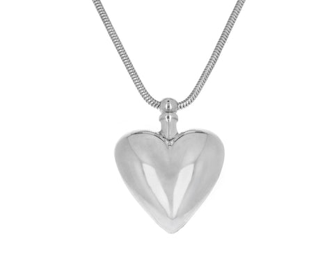 Heart Perfume Pendant Necklace