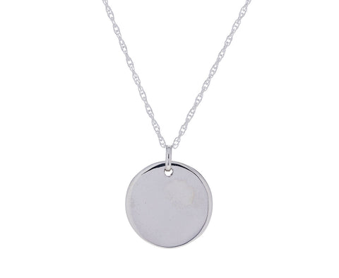 Simple Circle Pendant Necklace - TWISTonline