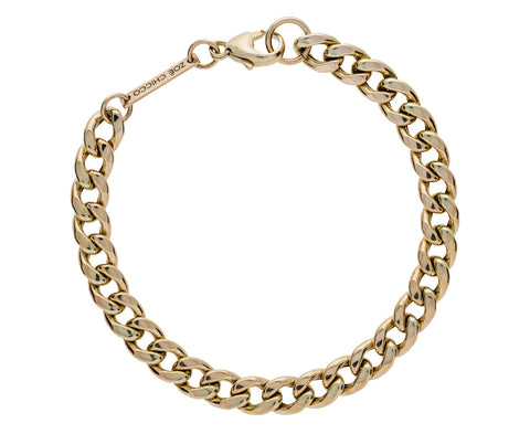 Large Gold Curb Chain Bracelet - TWISTonline