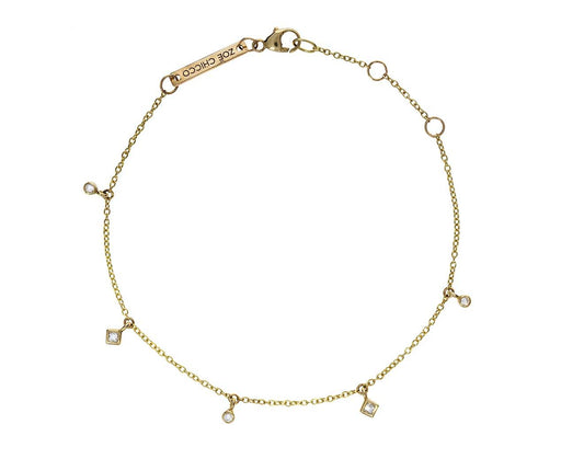 Dangling Diamond Charm Bracelet - TWISTonline
