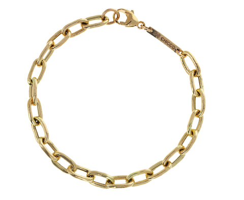 Extra Large Oval Link Chain Bracelet
