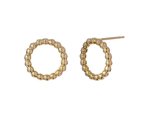 Beaded Circle Earrings - TWISTonline