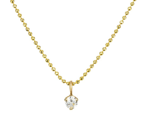 Diamond Pendant Necklace zoom 1_zoe_chicco_gold_diamond_solitaire_necklace
