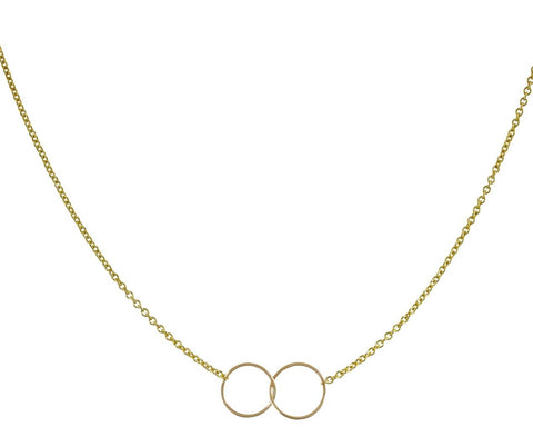 Interlocked Circles Necklace zoom 1