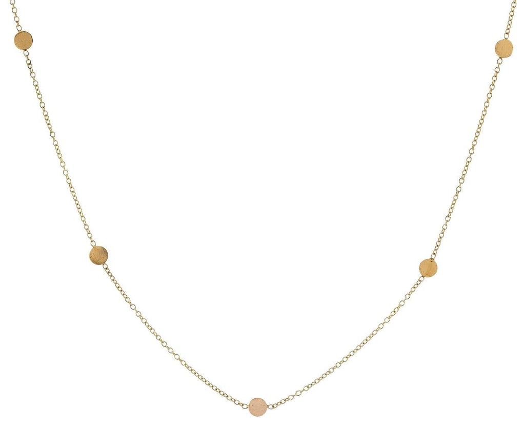 Gold Disc Necklace - TWISTonline