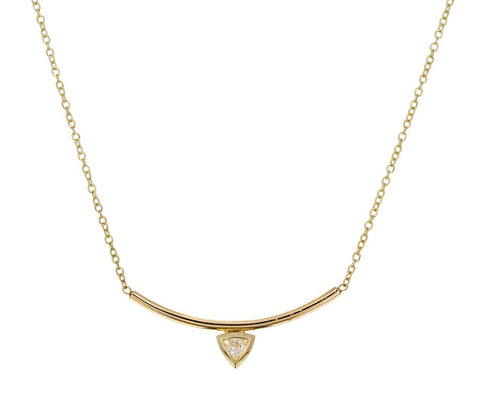 Diamond Bar Pendant Necklace zoom 1_zoe_chicco_gold_diamond_curved_bar_necklace