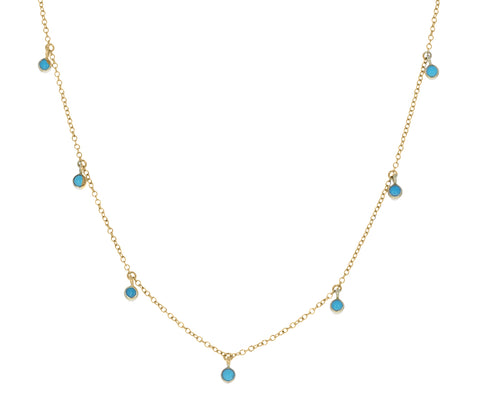 Dangling Turquoise Necklace
