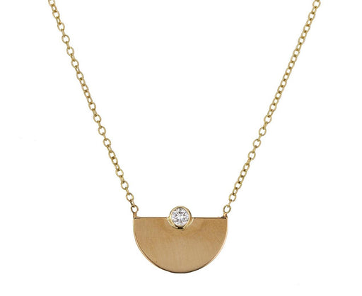 Diamond Horizon Pendant Necklace - TWISTonline