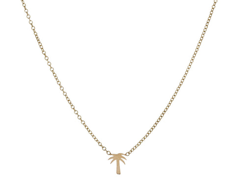 Itty Bitty Palm Tree Necklace