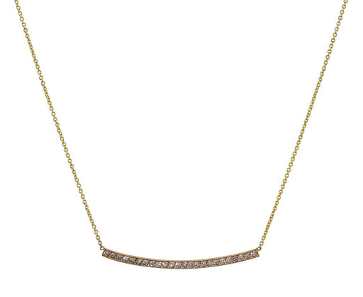 Large Curved Bar Necklace - TWISTonline