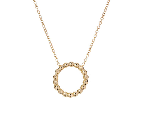 Beaded Circle Necklace - TWISTonline