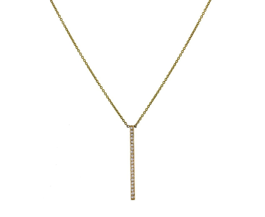 Vertical Gold Bar Necklace - TWISTonline